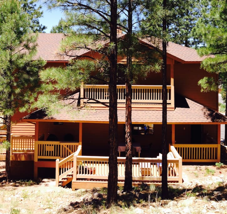 Dining Deck Below and Bedroom 2 Deck Above.