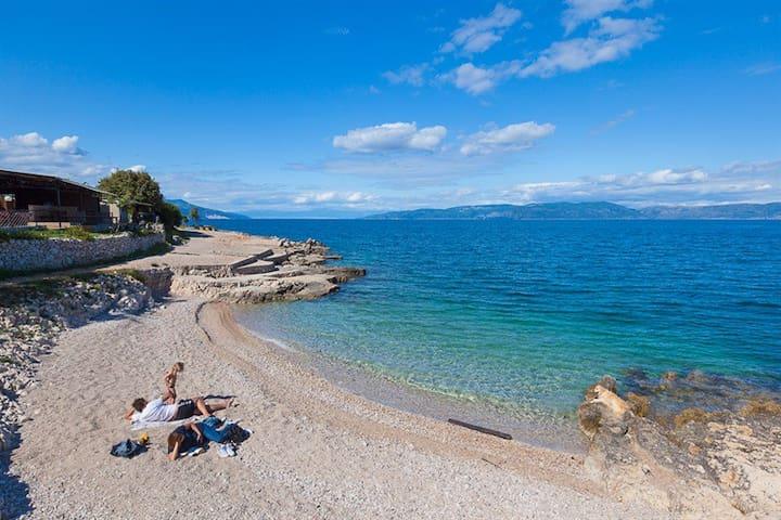 Koromač - beautiful view of the sea