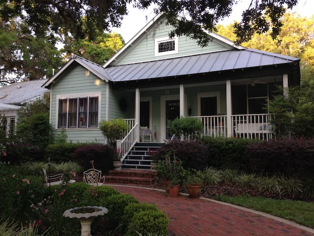 Enchanting cottage near downtown - Mount Dora - Casa