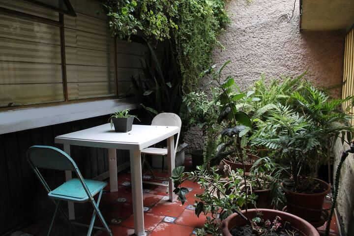 Apartment in Lindavista with SweatLodge Temazcal..
