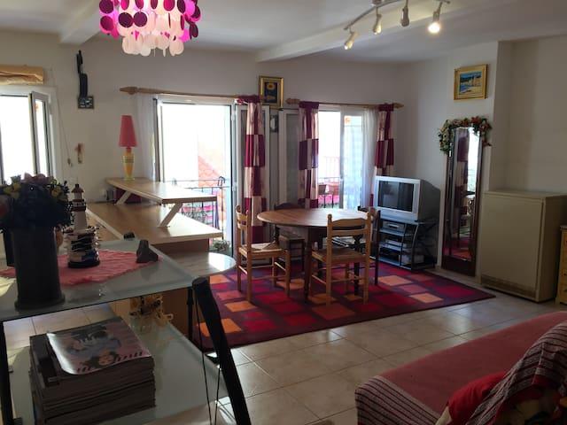 Appartement cosy à Cerbère - Cerbère - Apartamento