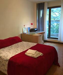 Cozy Bedroom with amazing view - Genève