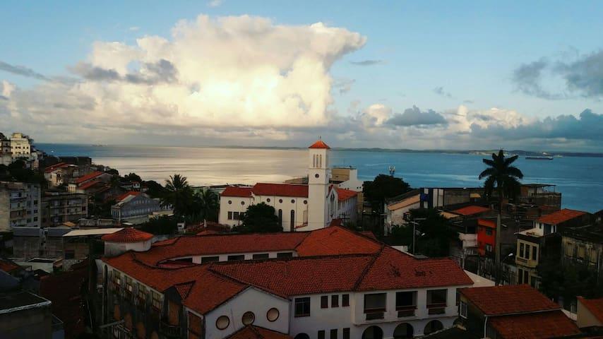 Apê com melhor vista da Bahia