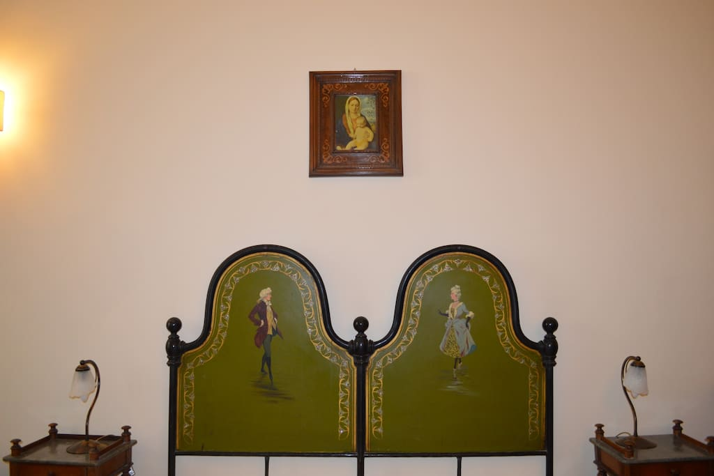 Dama and Cavaliere's bedroom
