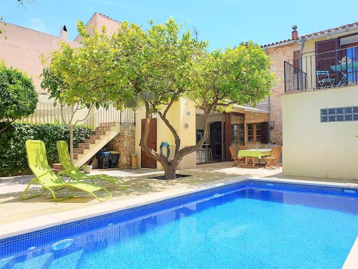 Sa Llimonera, Casa con piscina ideal familias