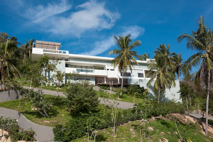 Lime Samui 10.5 BR 2 Villas up to 30 Guests