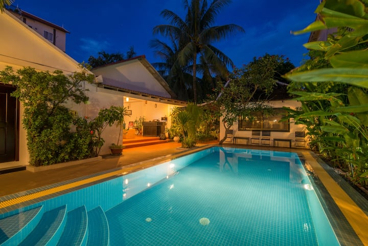 Pub Street Private Villa Pool WiFi 15Mb #6/6