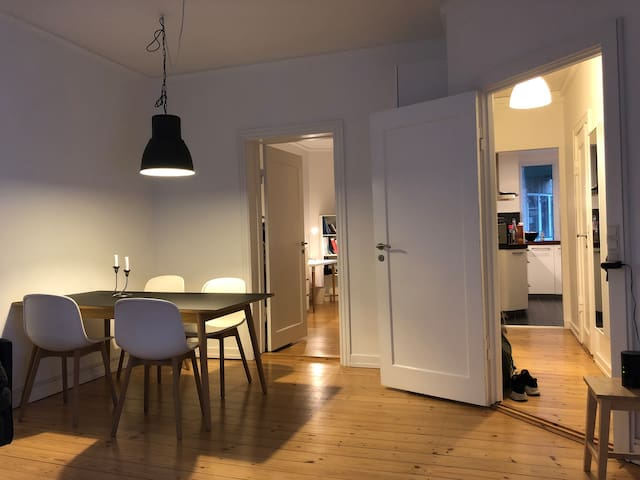 Classic Østerbro Apartment in the Climate Quarter
