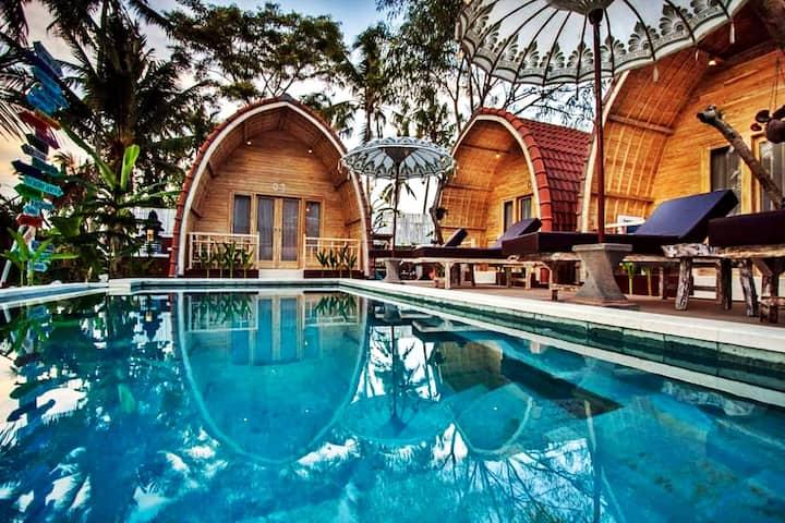 1 BR villa in Honai Resort, close to Sangeh