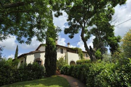 Beautiful apartment with lawn and swimming pool - San Vivaldo - Flat