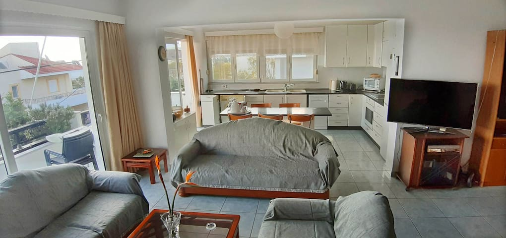 Zephiros: spacious and sunny apt with seaview