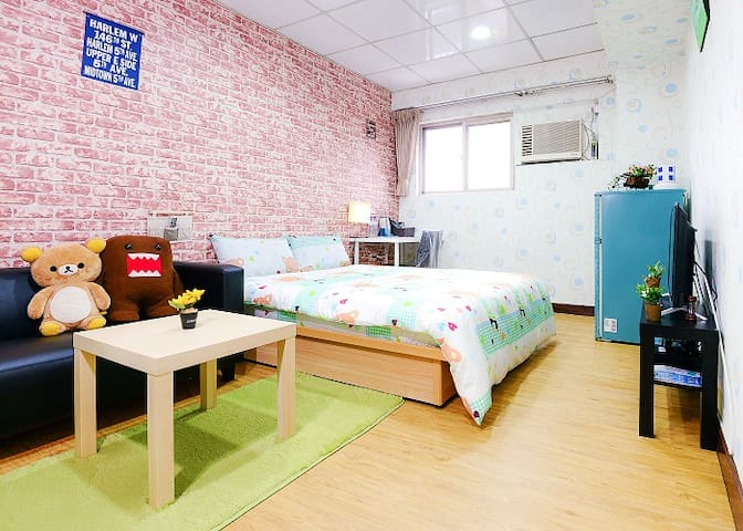 Kyo'sWarmHouse台北車站+西門町Taipei Station+Ximending機捷北門 - Zhongzheng District - Apartamento