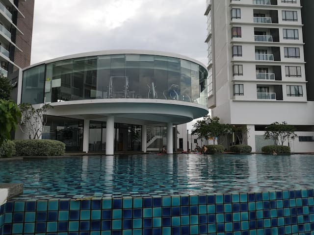 Woodsbury Suites,Butterworth,Penang Sentral(WIFI)
