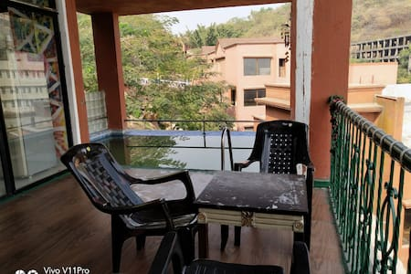 2BHK COUPLE FRIENDLY WITH PRIVATE SWIMMING POOL