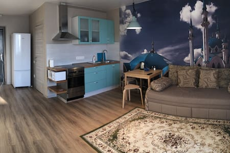 Уютная студия не далеко от центра Новосибирска