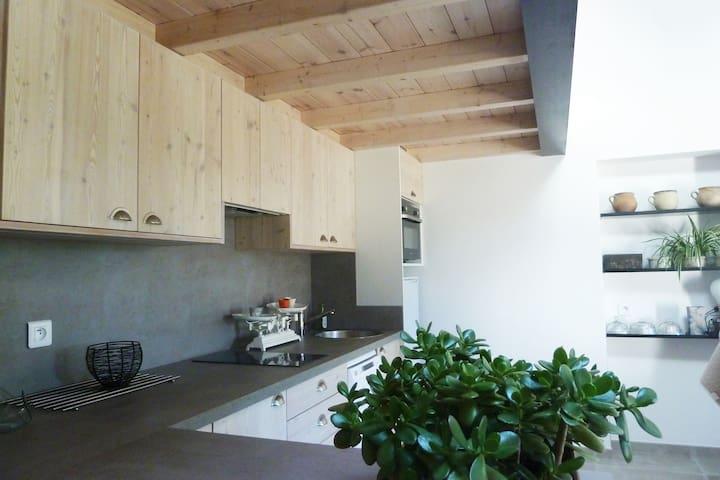 Gîte contemporain propriété fermée sud Valence - Beaumont-lès-Valence - Ev