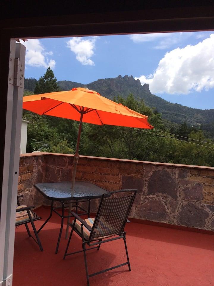 Cabaña Loft en El Chico.
