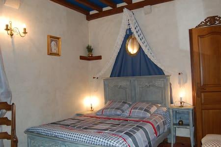 """Chambre cosy  """"normandie"""" ,  au rez de chaussée - Castillo"""