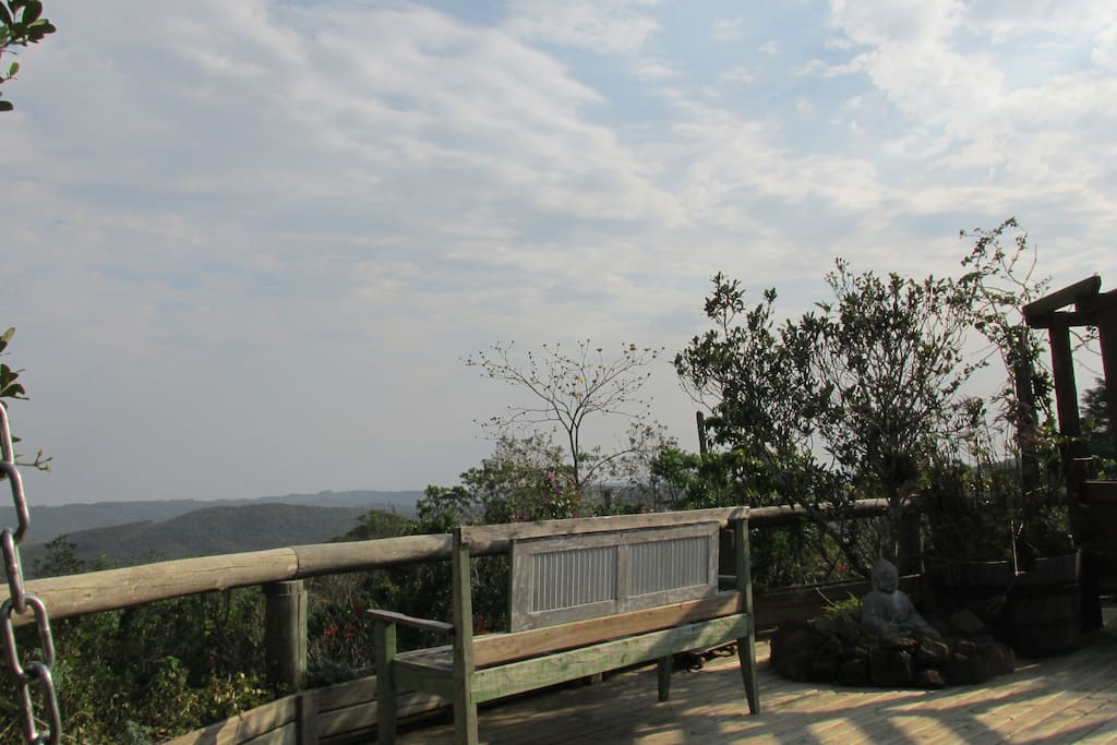 Vista frente da Casa Mãe