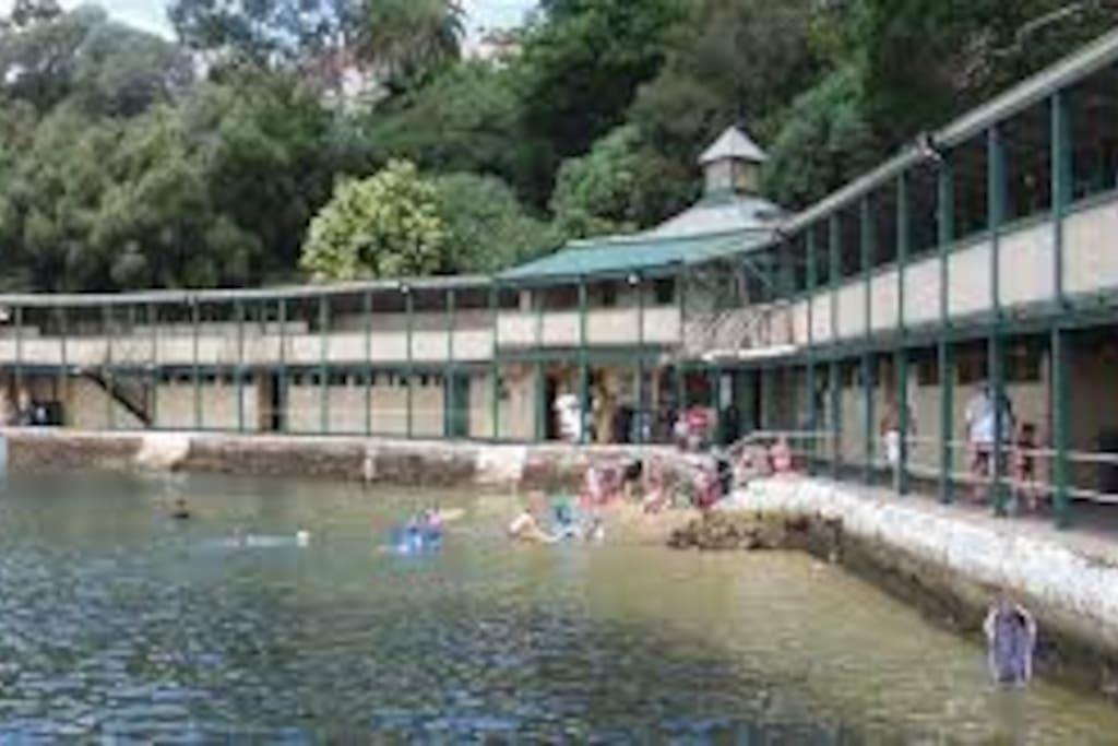 Famous Dawn Fraser Baths