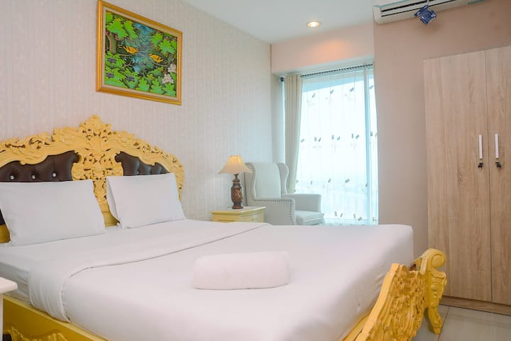 Simply Comfortable Studio @Grand Kamala Lagoon Apt