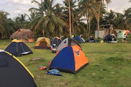 Camping en Kuna Yala