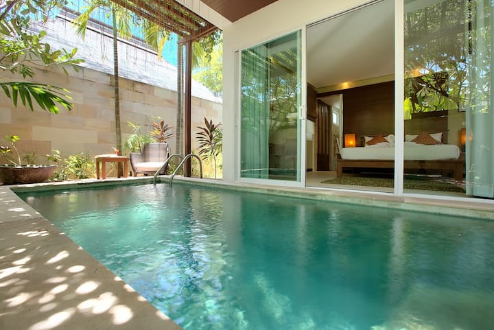 One Bedroom Garden Villa with Private Pool