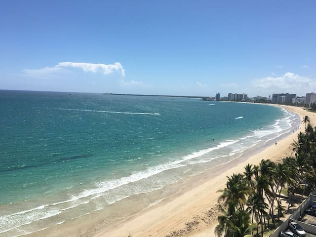 Beach Front View Apartment at Isla Verde