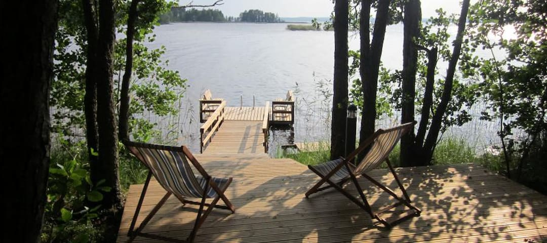 Big villa in private island - Villa Raita ***** - Rääkkylä - Villa