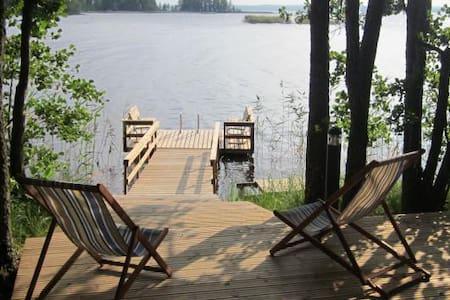 Big villa in private island - Rääkkylä