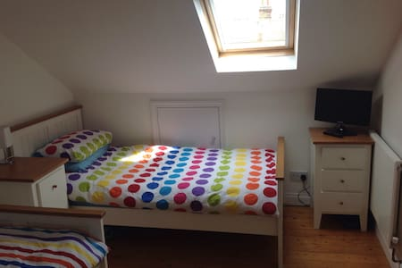 Quiet twin beds en-suite in SW19 - Londra