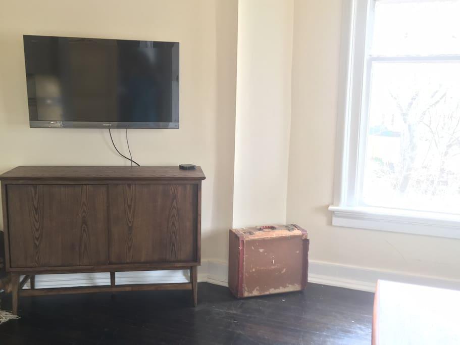 TV in sitting room
