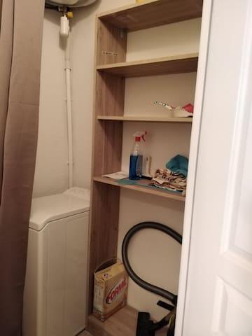 Toilettes (lave linge)