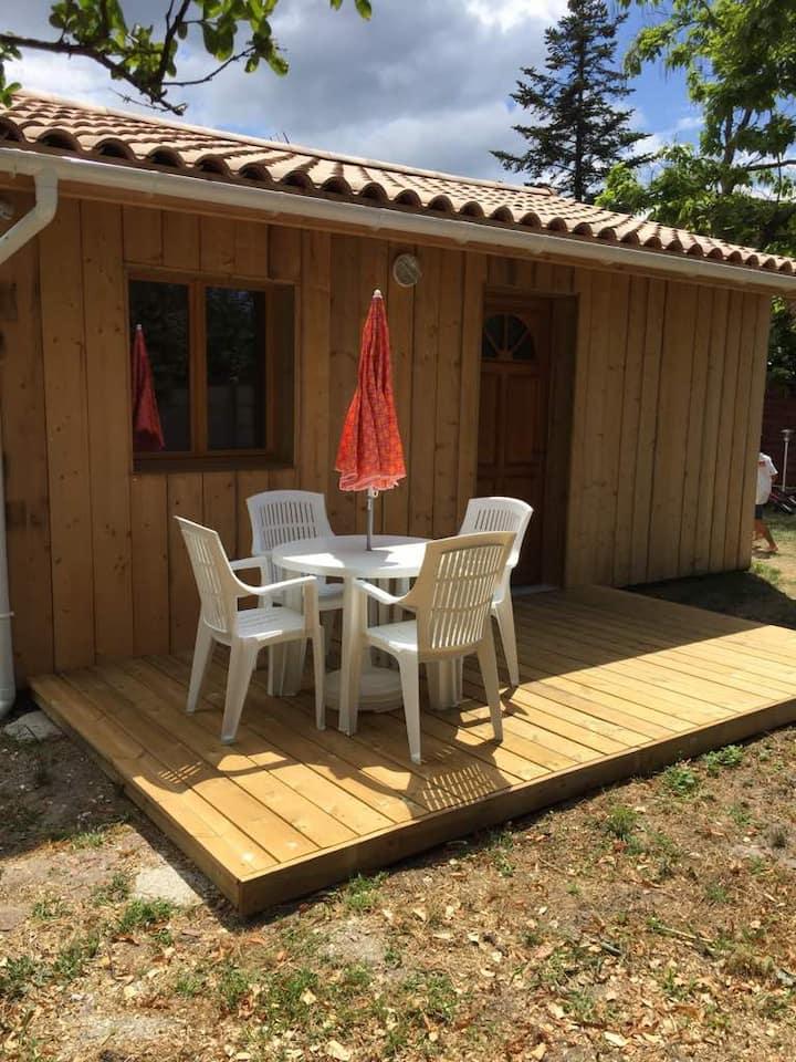 La Teste-de-Buch : maison style cabane à huîtres