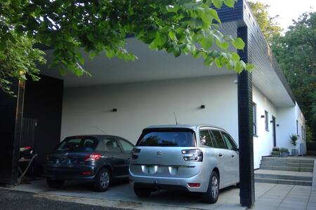 Moderne familiehus med stor have - Virum