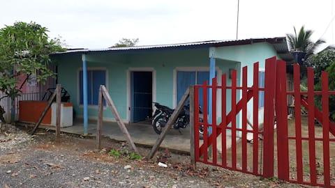 Casa el Dorado serca al Río Putumayo