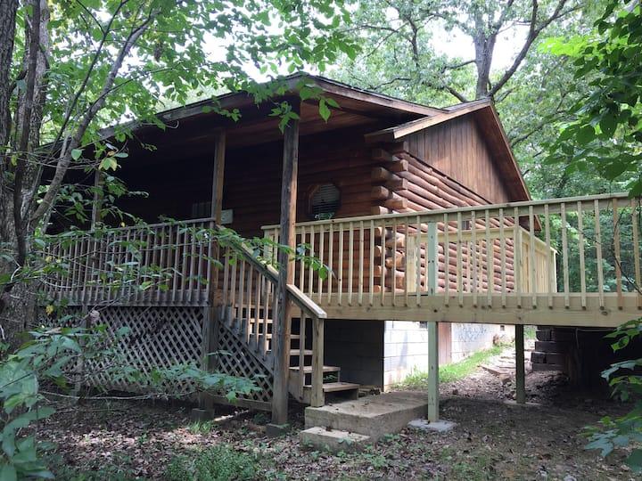 Country Rose Log Cabin
