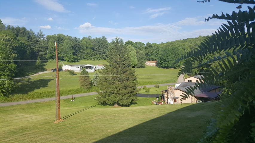 View from the front porch.  3 of 3
