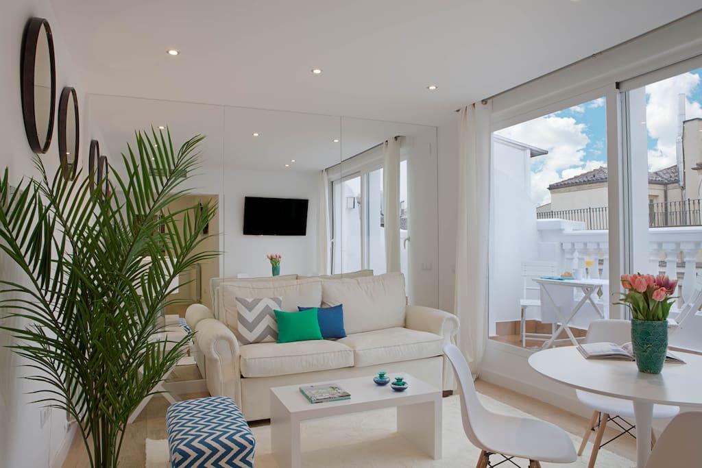 Terraza inmejorable localizaci n sol apartamentos en alquiler en madrid comunidad de madrid - Apartamentos en sol madrid ...