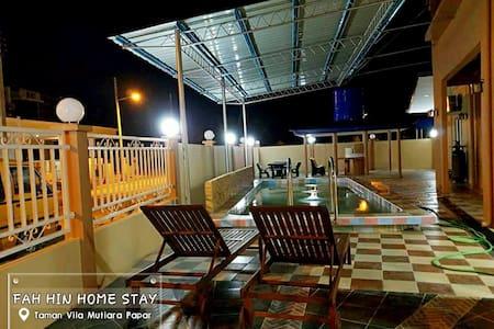 Fah Hin Home Stay Papar (Taman Vila Mutiara Papar) - Papar - Dům
