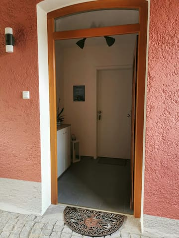 Eingang Ferienwohnung