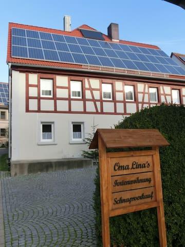 Oma Lina´s Ferienhaus Wohnung Bella - Dietenhofen - House