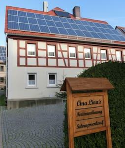 Oma Lina´s Ferienhaus Wohnung Bella - Dietenhofen