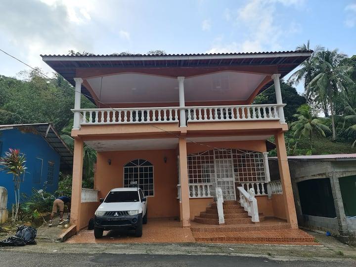 Alquila casa de ensueño en Portobelo.