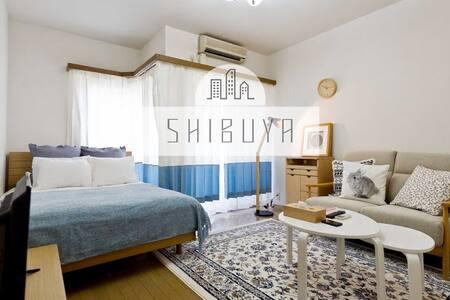 Downtown Shibuya, 6min to Shibuya Station! #203 - Shibuya-ku - Appartement