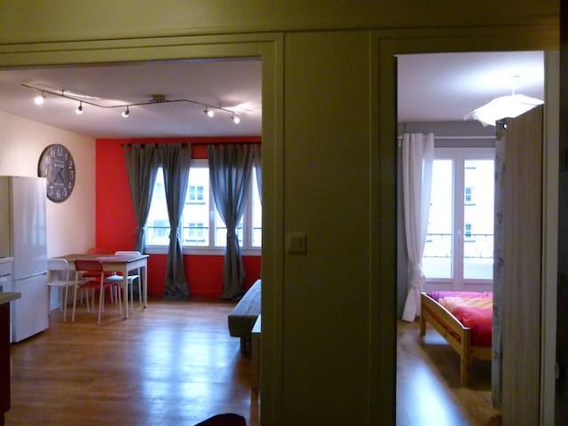 Appart. idéalement situé. - Grenoble - Apartmen