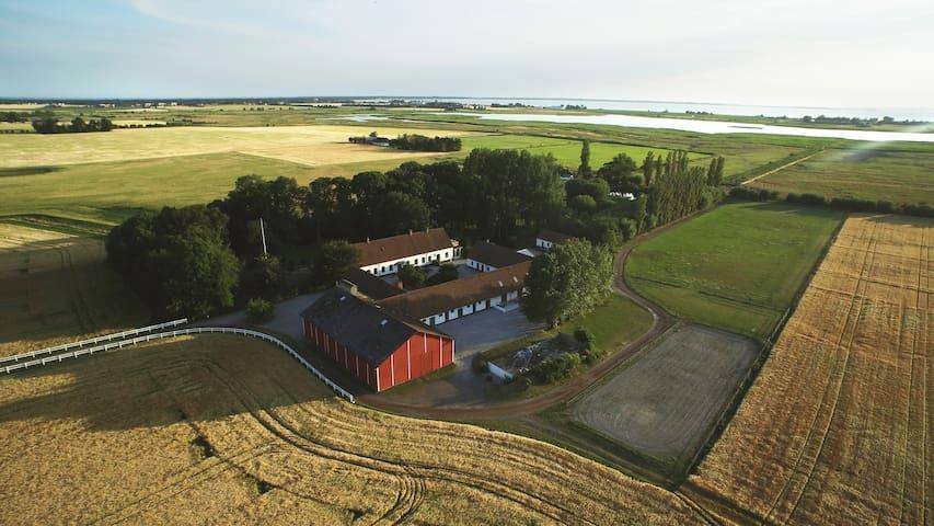 Vacker klassisk gårdsmiljö vid Öresund - Vellinge S - Leilighet