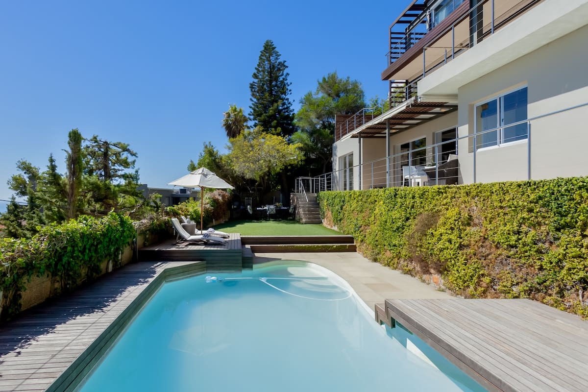Hillside Escape with Ocean Views and Outdoor Pool