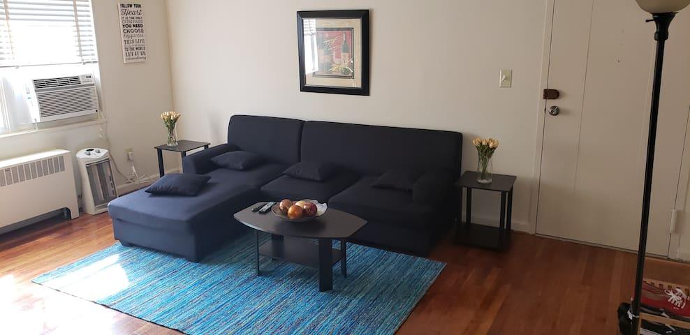 Private room in 2 bedroom in clarendon. 5min to DC