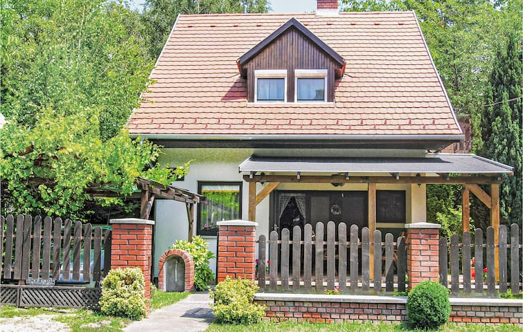 Holiday cottage with 2 bedrooms on 75m² in Balatongyörök